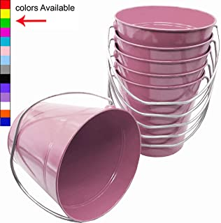 Best colored metal buckets Reviews
