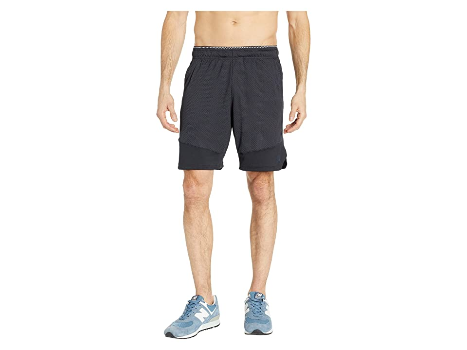 New Balance R.W.T. Knit Shorts (Black) Men