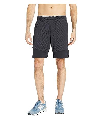 New Balance R.W.T. Knit Shorts (Black) Men