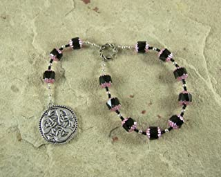 Freyja (Freya) Pocket Prayer Beads: Norse Goddess of Love, War and Magic