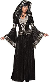 Bristol Novelty 79011 Dark Sorceress Costume, UK Size 10-14