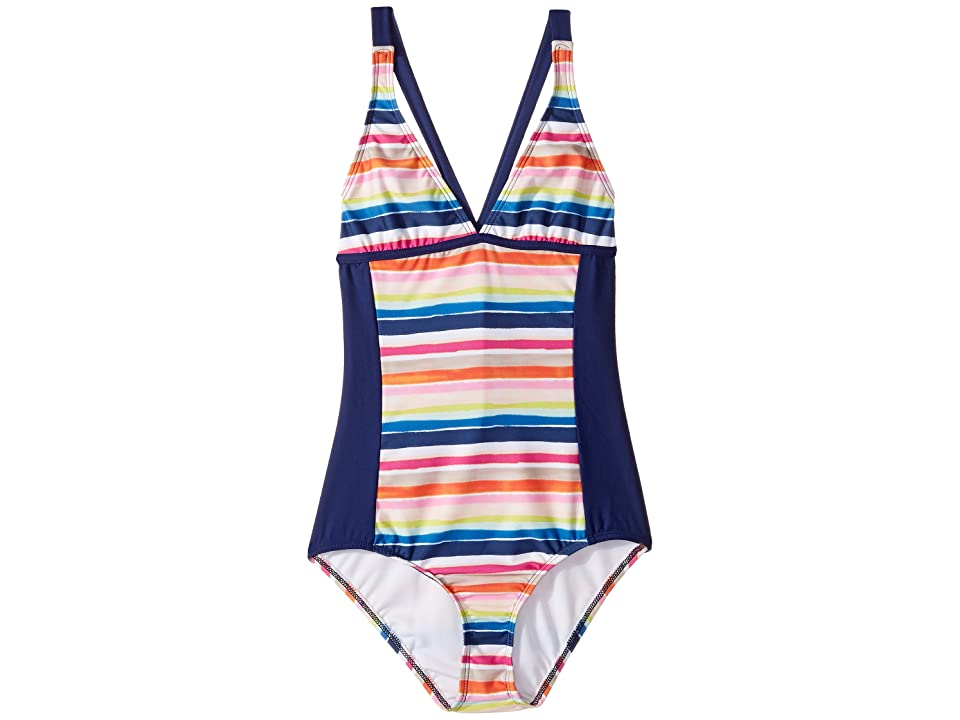 f5516ea96c71a Splendid Littles Watercolor Horizon One-Piece (Big Kids) (Multi) Girl s  Swimsuits One Piece