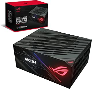 Asus ROG Thor 1200W Platinum Power Supply Unit stands out with Aura Sync and an OLED display - 90YE0080-B001N0