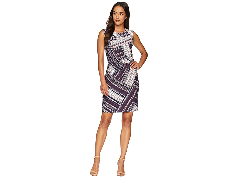 NIC+ZOE Petite Elegant Edit Twist Dress (Multi) Women