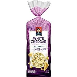 Quaker Rice Cakes, White Cheddar, 5.50 oz