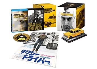 """コロンビア映画90周年記念『タクシードライバー』BOX """"NYチェッカーキャブ""""ミニチュアレプリカ付き(初回限定版) [Blu-ray]"""