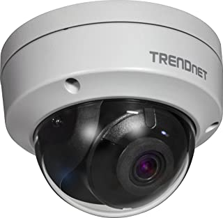 TRENDnet TV-IP315PI - Cámara de Red PoE con Domo Color Gris