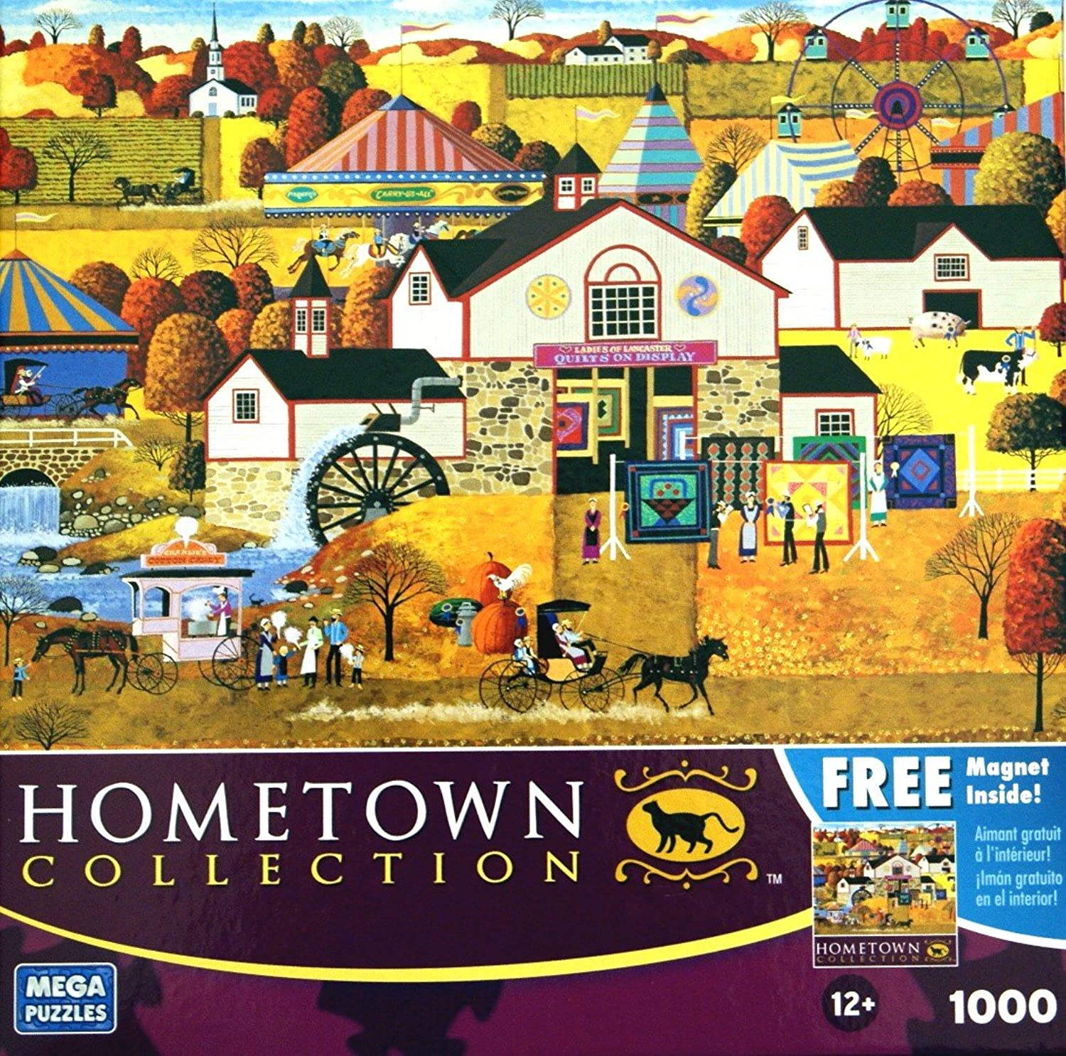 Mega Puzzles Hometown Collection Ladies of Lancaster by Heronim 1000 piece Puzzle