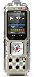 Philips DVT6510 digitaal dicteerapparaat, audiorecorder geoptimaliseerd voor het opnemen van muziek