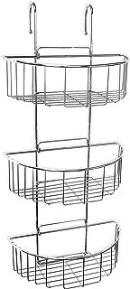 Tatay 4437400 Cestillo Ovalado con 3 Alturas, Metal, Cromado, 27.50x15.00x60.00 cm