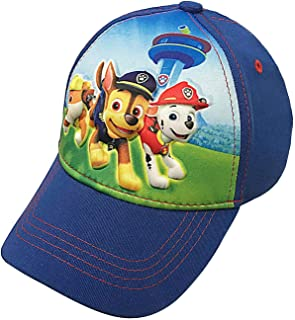 Nickelodeon Toddler Paw Patrol Character Boys Baseball Cap 100% Cotton - Age 2-5 Blue