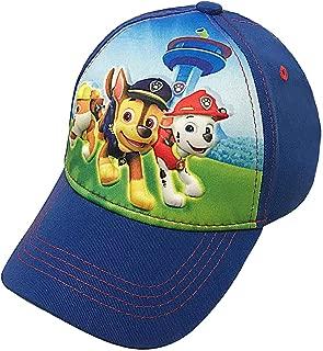 Nickelodeon Toddler Paw Patrol Character Boys Baseball Cap 100% Cotton - Age 2-5 Blue