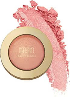 Milani Baked Blush - Bella Bellini (0.12 Ounce) Vegan, Cruelty-Free Powder Blush - Shape, Contour & Highlight Face for a S...