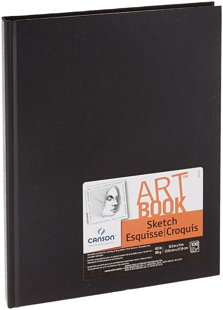 Canson Basic Sketch Book, 8-1/2