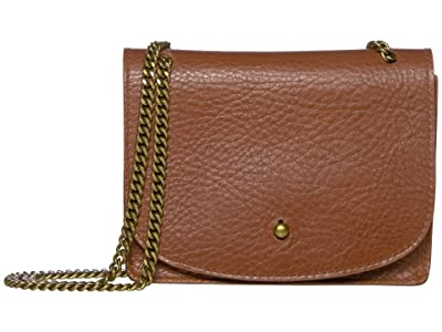 Madewell The Chain Crossbody Bag (English Saddle) Handbags