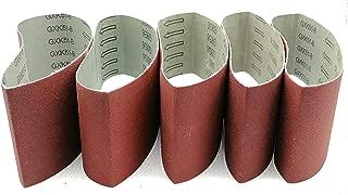 3 Inch x 21 Inch Sanding Belts, 320/400/600/800/1000 Grits, Belt Sander Tool for Woodworking, Metal Polishing, 5 Pack Aluminum Oxide Sanding Belt