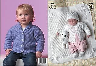 King Cole Baby Jackets, Hat & Blanket DK Knitting Pattern 2767 by King Cole - King Cole Patterns