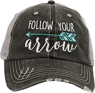 Katydid Follow Your Arrow Women's Trucker Hat