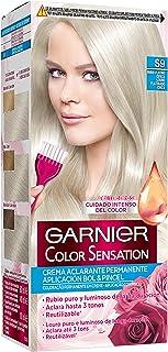comprar comparacion Garnier Color Sensation - Tinte Permanente Rubio Platino Ceniza S9, disponible en más de 20 tonos