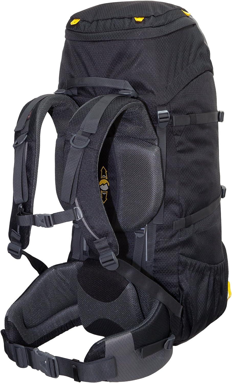 Tashev Trekkingrucksack Alpin 60 Plus 10 L Blau