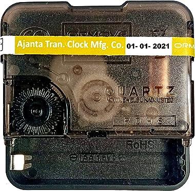 Dreamy Ajanta Mfg. Quartz Machine for Wall Clock, Battery Operated, Clock Movement Machine DC01M