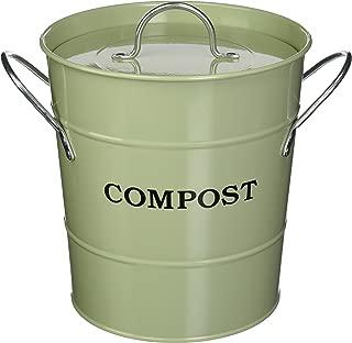 Exaco Trading Co. CPBG 01 Exaco 2-in-1 Indoor Compost Bucket, 1 Gallon, Green