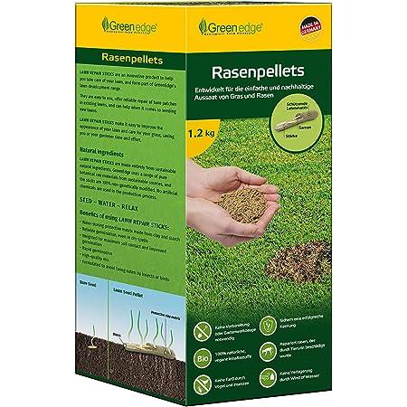 Rasenpellets Regeneration Rasen für robusten und widerstandsfähigen Rasen