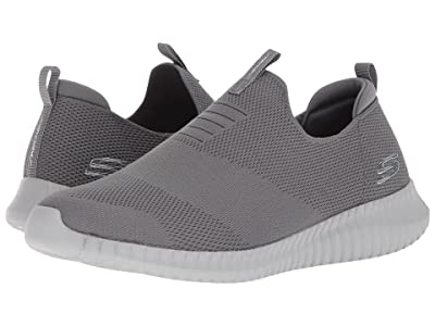 SKECHERS Elite Flex Wasik (Charcoal) Men