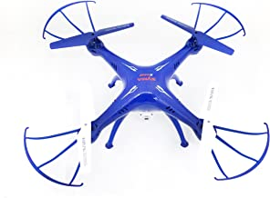 SYMA X5SW-1 FPV Camera Drone with Real Time Transmission in Exclusive Blue Design with Extra Battery X5SW