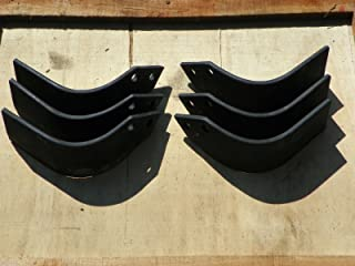 Agric Replacement Tiller Tines Code 04503303 & 04503400 set of 3 each side