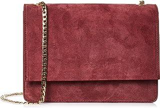 حقيبة كروس طويلة للنساء من فيتوريا نابولي، لون نبيذي - B711