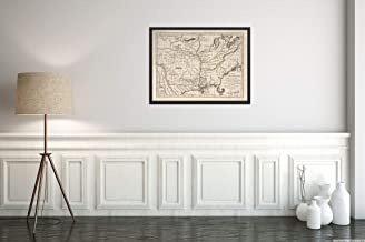 1758 Map|Subject: Louisiana|Mississippi|Mississippi Valley|United States|Title: Carte de la Louisian