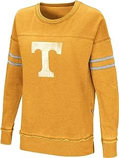 Women's NCAA-Home Game- Fleece Retro Vintage Pullover Sweatshirt