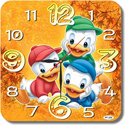 MAGIC WALL CLOCK FOR DISNEY FANS DuckTales 11 Handmade made of acrylic glass -