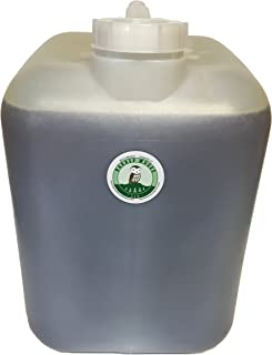 5 Gallon Bulk Pure Vermont Maple Syrup in Easy to Handle Jug with Cleanable Spout (Amber Color Rich Taste)