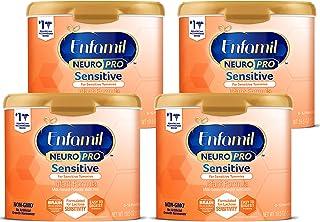 Enfamil Enfamil Neuropro Sensitive Baby Formula, Powder Can, 19.5 Ounce, Pack of 4