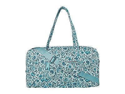 Vera Bradley Lay Flat Travel Duffel (Cloud Vine) Bags