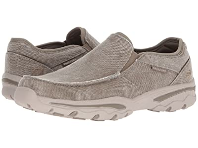 SKECHERS Relaxed Fit: Creston Moseco (Taupe) Men