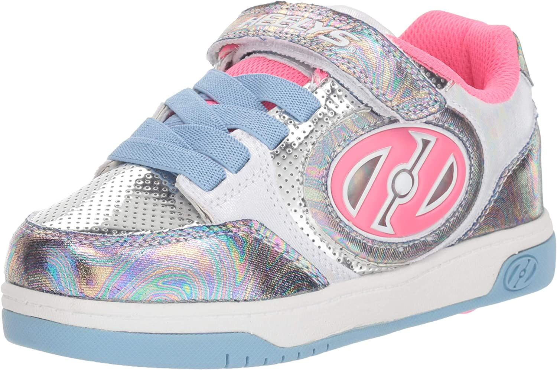 HEELYS Unisex-Child Plus X2 Wheeled Heel Shoe