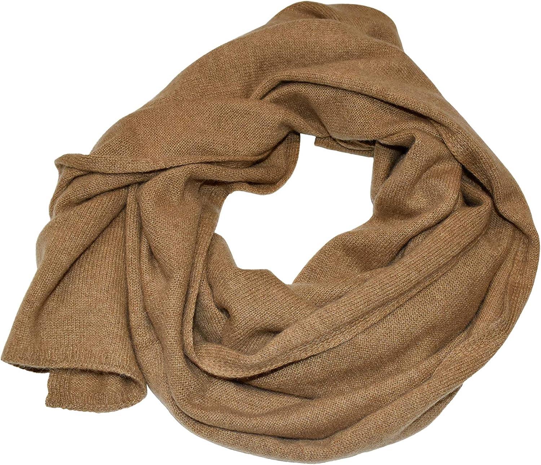 DALLE PIANE CASHMERE - Schal aus 100% Kaschmir - für Mann/Frau Kamel