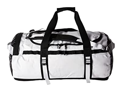 The North Face Base Camp Duffel Medium (TNF White/TNF Black) Duffel Bags