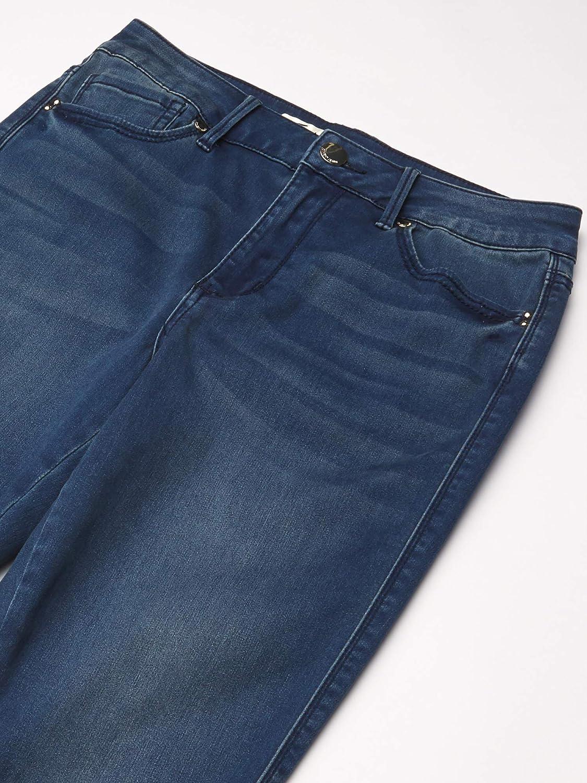 Seven 7 Women/'s High Rise Skinny Jeans Skin-Fit Legacy Denim Super Soft Stretch