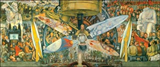 Diego Rivera - Man at the Crossroads, Size 14x36 inch, Poster art print wall décor