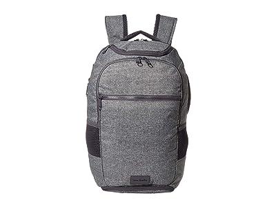 Vera Bradley ReActive Journey Backpack (Gray Heather) Backpack Bags
