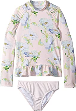 d5b12a9971 Janie and Jack. Ruffle One-Piece Swimsuit (Toddler/Little Kids/Big Kids).  $39.00. Vintage Floral Stripe