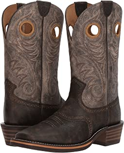 Heritage Roughstock Wide Square Toe