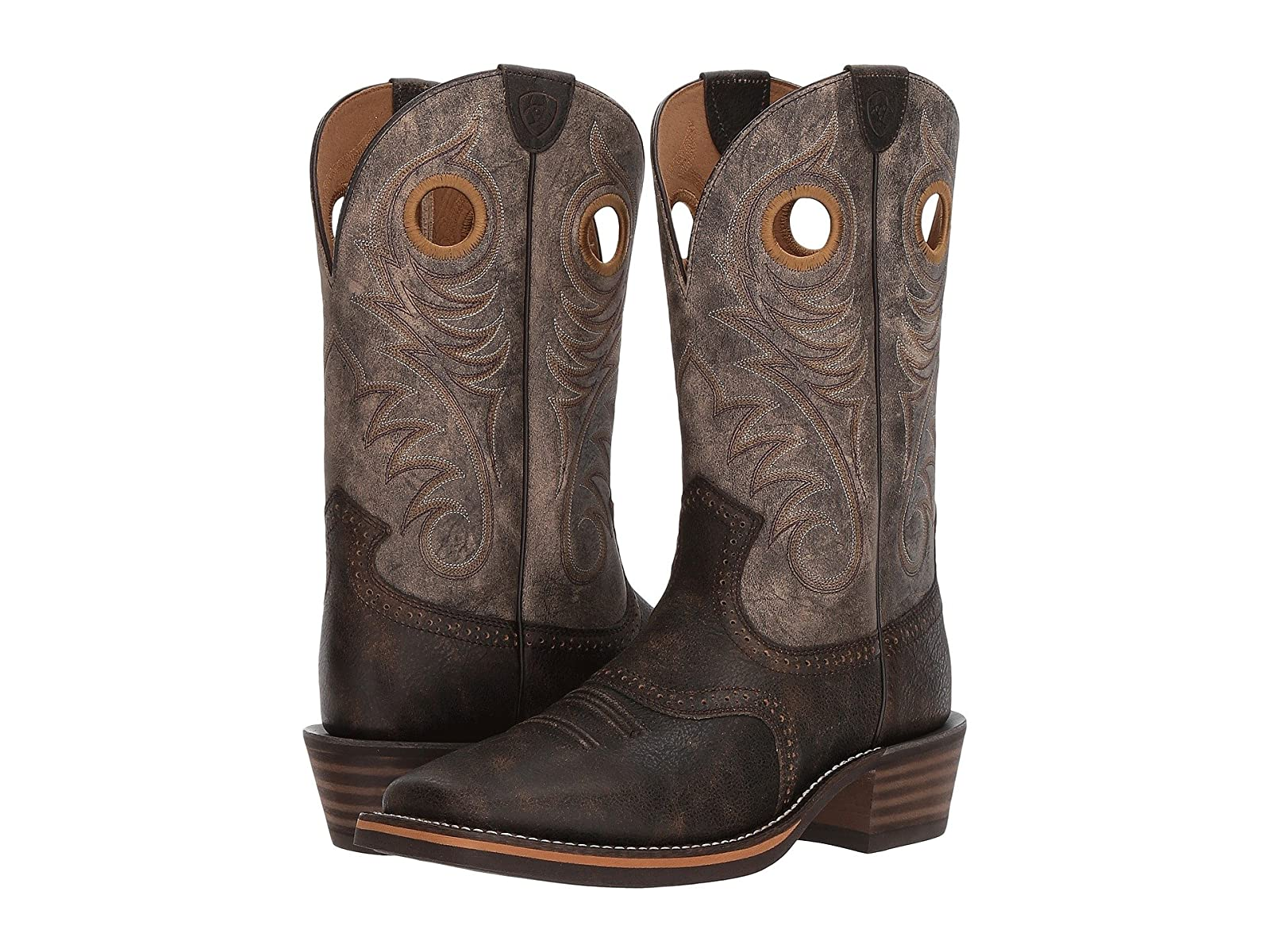 Ariat Heritage Roughstock Wide Square ToeSelling fashionable and eye-catching shoes