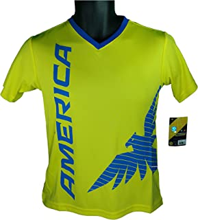 Club America Soccer Official Youth Soccer Training Performance Poly Jersey P008R