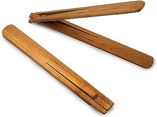 Enrico 1222 EcoTeak Wood Spring Tongs