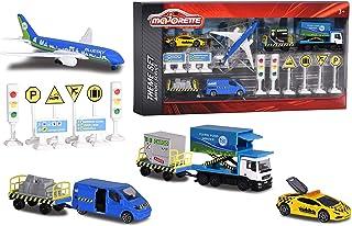 Simba Majorette Airport Playset Big Airport Service Theme Set, Multi-Colour